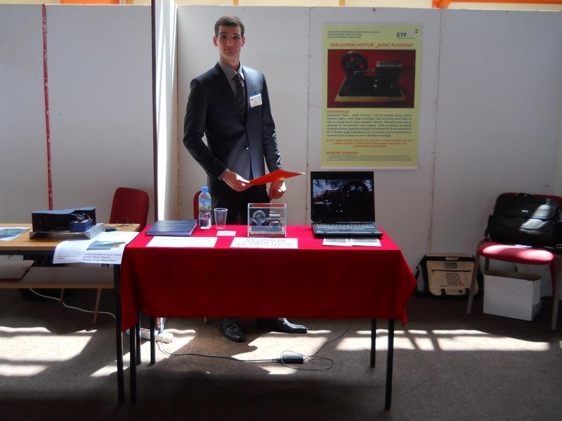 """4 Vakuumski Motor """"Jedač Plamena"""" : Inventum u Iloku, Međunarodni sajam inovacija 2014."""