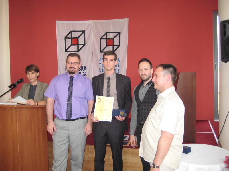 8 Međužupanijska izložba inovacija Ivanić-Grad 29.5. - 30.5.2014.  : Osvojeno prvo mjesto (zlatna plaketa) i glavna nagrada međužupanijskog natjecanja.